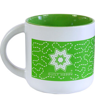 K1C2 14 oz Quilt Happy Meandering Mug