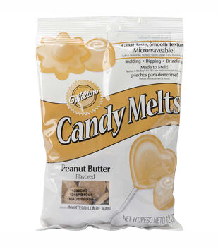 Wilton® 12oz Candy Melts-Peanut Butter