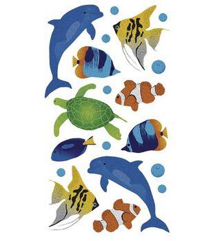 EK Success Sticko Stickers-Sea Animals Metallic