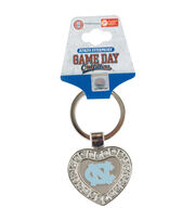University of North Carolina NCAA Heart Keychain, , hi-res