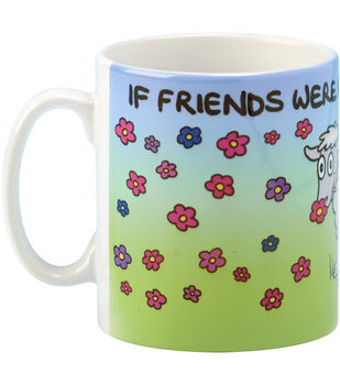 Vanessa Bee Designs Coffee Mug-If Friends Were Flowers