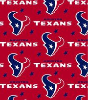 Houston Texans NFL Fleece Fabric by Fabric Traditions, , hi-res
