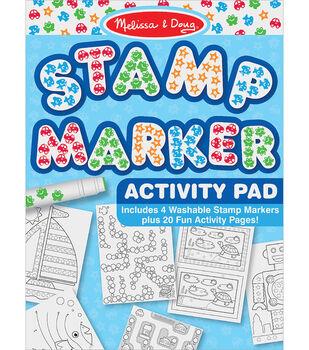 Melissa & Doug Stamp Marker Activity Pad-Blue
