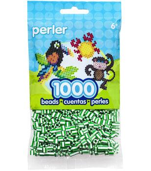 Perler Striped Bead Bag