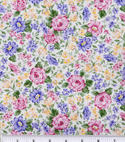 Keepsake Calico™ Cotton Fabric-French Bouquet Pink Lavender, , hi-res