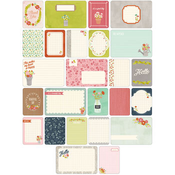 Project Life Themed Cards 60/Pkg-Floral