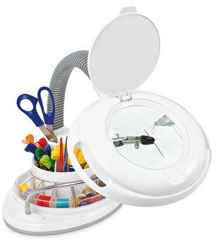 22w Storage Lamp With Magnifer