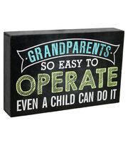 Escape To Paradise Wall Banner-Operate Grandparents, , hi-res