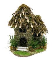 Fairy Garden Twig Roof House, , hi-res