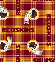 Washington Redskins Plaid Fl, , hi-res
