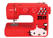 Janome 13512 Red Hello Kitty Sewing Machine, , hi-res