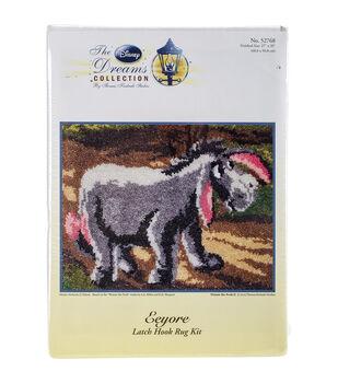 MCG Textiles Latch Hook Kit 27''x20''-Eeyore