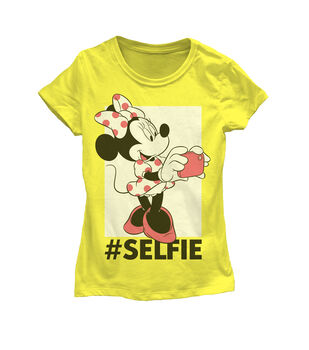Disney Minnie Mouse Selfie Kids T-shirt