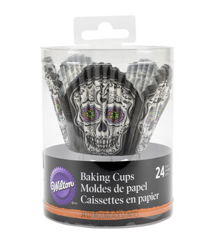 Wilton® Petal Baking Cups-Deadly Soiree 24/Pkg