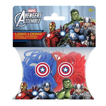 Marvel Comics Captain America Logo Loomz