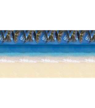 "Fadeless Design Rolls 48""x12' Tropical Beach"