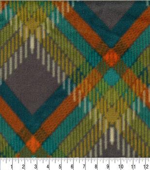 Anti Pill Fleece Fabric-Adele Plaid