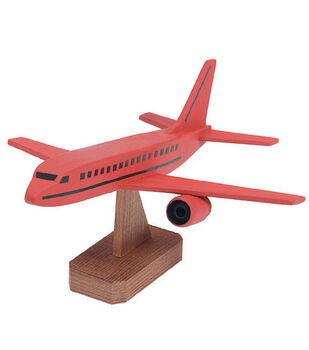 Darice Wood Model Kit-Jumbo Jet