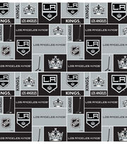 Los Angeles Kings  NHL Block Cotton Fabric, , hi-res
