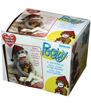 Janlynn Peejay Sock Monkey Kit