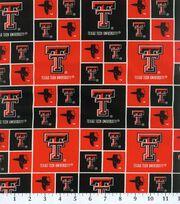 Texas Tech University NCAA  Cotton Fabric, , hi-res