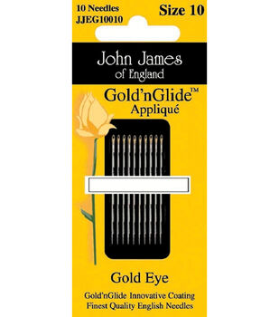John James Gold'n Glide Applique Needles