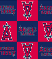 Los Angeles Angels MLB  Fleece Fabric, , hi-res