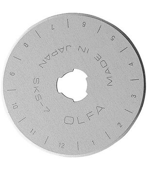 Olfa Rotary Blade Refill-45mm 10/Pkg
