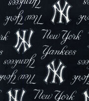New York Yankees MLB  Ultra Fluffy Fleece Fabric, , hi-res