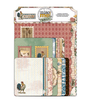 Bo Bunny Provence Misc Me Journal Contents