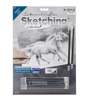 Royal Langnickel Running Free Sketching Made Easy Kit