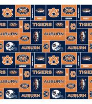 Auburn NCAA  Fleece Fabric, , hi-res