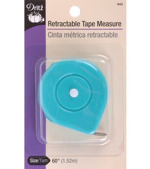 """Dritz® Spring Tape Measure-60"""" Assorted Colors"""