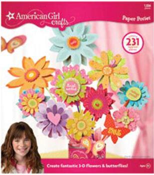 American Girl Paper Pad-Posies