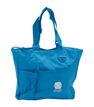 Knit Happy Bright Bags-Turquoise