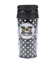 University of Missouri NCAA Polka Dot Travel Mug, , hi-res