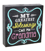 Escape To Paradise Wall Banner-Grandma Great Blessings, , hi-res