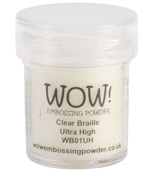Wow! Embossing Powder Ultra High