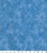 Keepsake Calico™ Cotton Fabric-Viney Tonal Leaf Blue, , hi-res