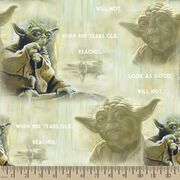 Star Wars™ Print Fabric-The Wisdom of Yoda, , hi-res