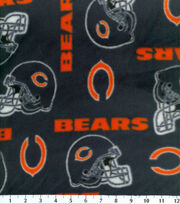 Chicago Bears NFL Fleece Fabric by Fabric Traditions, , hi-res