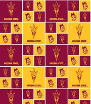 Arizona State University NCAA  Cotton Fabric, , hi-res