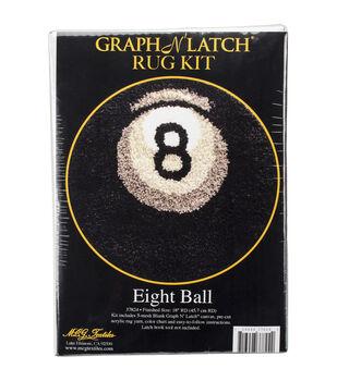 MCG Textiles Latch Hook Kit 18''-8 Ball