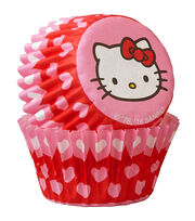 Wilton® Mini Baking Cups-Hello Kitty 100/Pkg, , hi-res