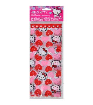 """Wilton® Treat Bags 4""""X9.5"""" 16/Pkg-Hello Kitty"""