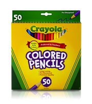 Crayola Colored Pencils-50PK/Long, , hi-res