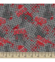 Walking Dead Fence Flannel Fabric, , hi-res