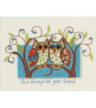 Dimensions Owl Always Be Your Friend Punchneedle Kit