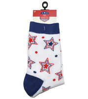 Sea To Shining Sea Crew Socks-Star Dot, , hi-res
