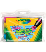 Crayola Washable Window Mega Markers, , hi-res